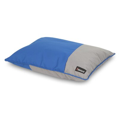 Dog Pillow Bed Color: Blue/Gray