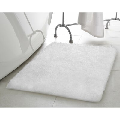 Claudia White Area Rug Rug Size: 23 x 39