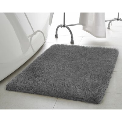 Claudia Charcoal Area Rug Rug Size: 23 x 39