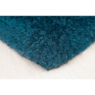 Nasim Teal Area Rug Rug Size: Rectangle 23 x 39