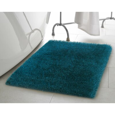 Claudia Teal Area Rug Rug Size: 23 x 39
