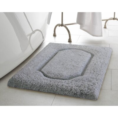 Blossom Premium Extra Plush Race Track 2 Piece Bath Rug Set Color: Dark Gray