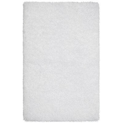 Claudia White Area Rug Size: 36 x 56