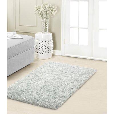 Hexham Plush Dusk Gray Area Rug Rug Size: 2 x 3