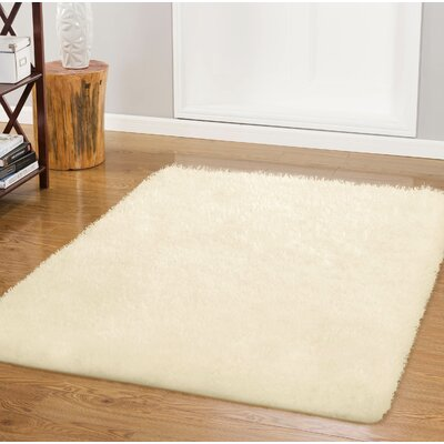 Nasim Ivory Area Rug Rug Size: Rectangle 23 x 39