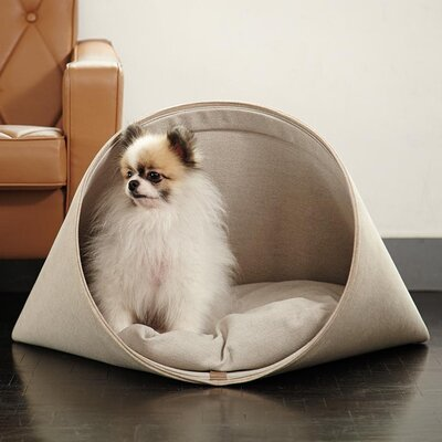 Howly Dog House Color: Basic Beige