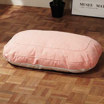 Ordinary Foam Dog Cushion Color: Peach Perfect