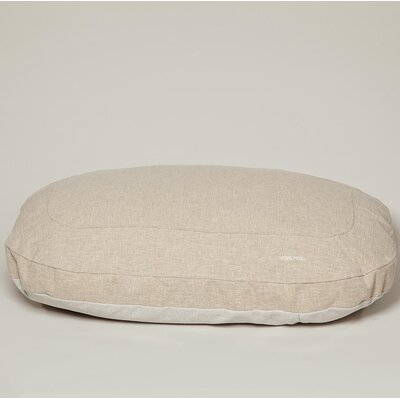 Ordinary Foam Dog Cushion Color: Basic Beige