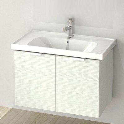 Lamlooma 31 Single Vanity Set Base Finish: Larch White