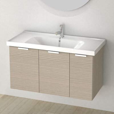 Lamlooma 39 Single Vanity Set Base Finish: Larch Canapa