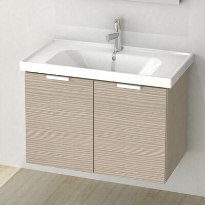 Lamlooma 31 Single Vanity Set Base Finish: Larch Canapa