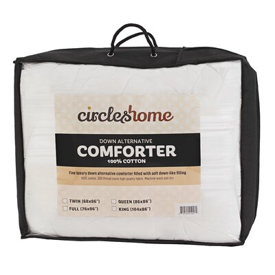 Circles Home Comforter Size: Queen