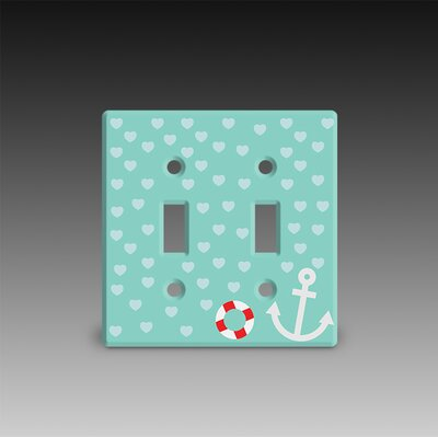 Double Post Light Switch Cover