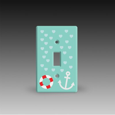 Single Post Light Switch Cover