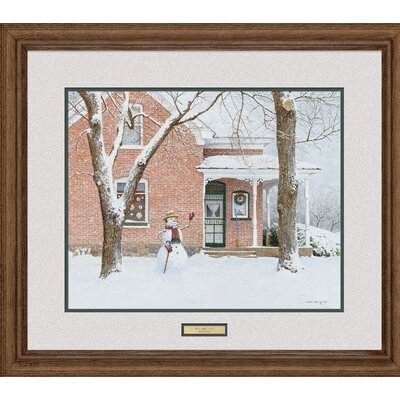 The Greeting by Ned Young Framed Photographic Print F970273589