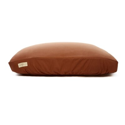 Standard Dog Bed Cover Size: X-Large (34 L x 42 W), Color: Chocolate Brown