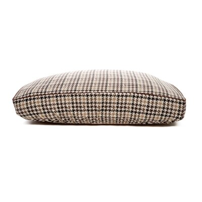 Deluxe Houndstooth Dog Bed Cover Size: Small (18 L x 24 W)