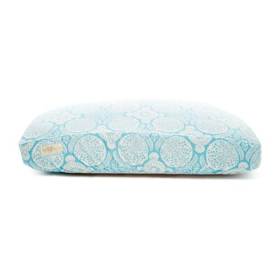 Deluxe Floral Dog Bed Cover Size: Small (18 L x 24 W)