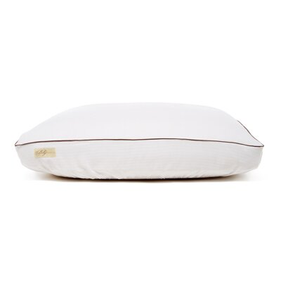 Premium Frette Dog Bed Cover Size: Small (18 L x 24 W), Color: White/Chocolate