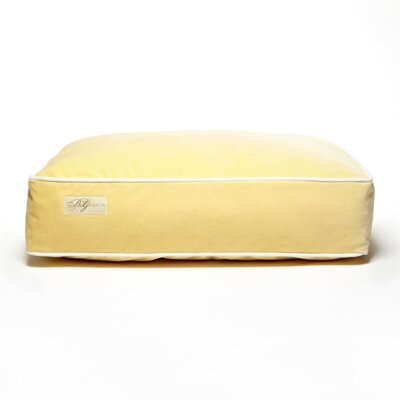 Microsuede Faux Down Cushion Dog Bed Size: Large (26 L x 34 W)