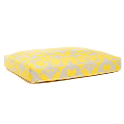 Faux Down and Foam Cushion Dog Bed Size: Large (26 L x 34 W)