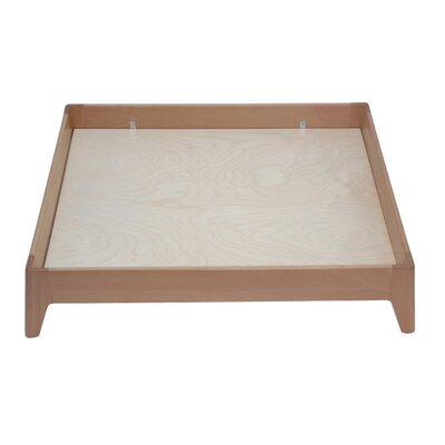 Wood Dog Bed Base Size: Large (29.25 L x 37.25 W), Color: Beech Wood