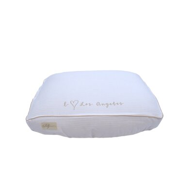 I (hhart) Los Angeles Cotton Fitted Bed Cover Size: Large (7 H x 26 W x 34 L)