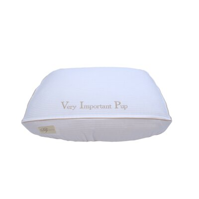 Very Important Pup Cotton Fitted Bed Cover Size: Large (7 H x 26 W x 34 L)
