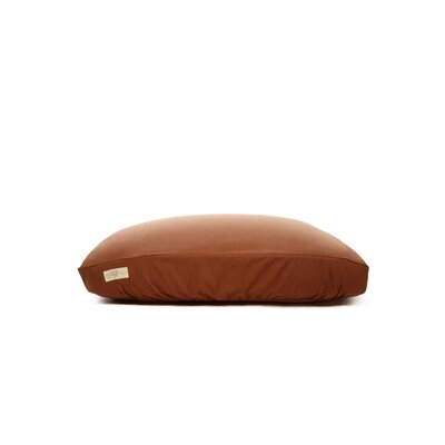 Standard Dog Bed Cover Size: Small (18 L x 24 W), Color: Chocolate Brown