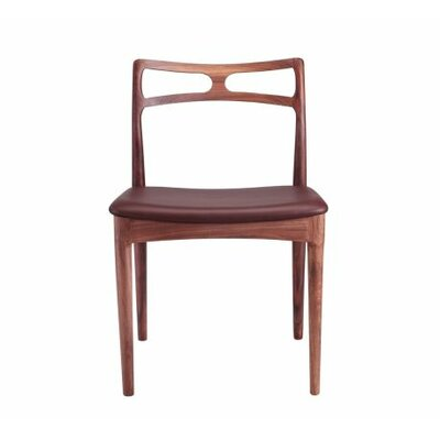 Arno Side Chair Upholstery Type - Color: Leather - Brown
