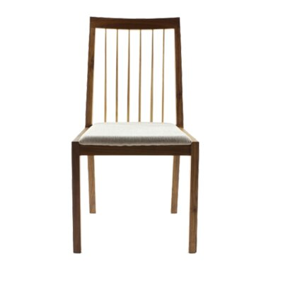 Koto Side Chair Upholstery Type - Color: Leather - Brown