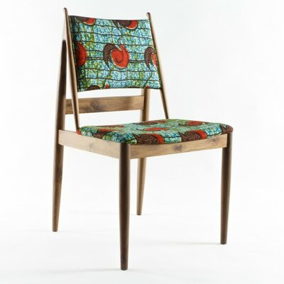 Eilif Side Chair Upholstery: Orange Flower Print