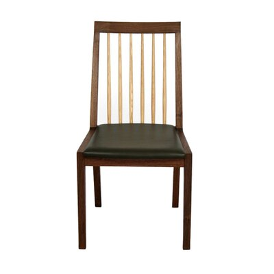Koto Side Chair Upholstery Type - Color: Leather - Black