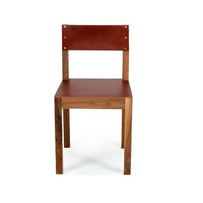 Montana Genuine Leather Upholstered Dining Chair