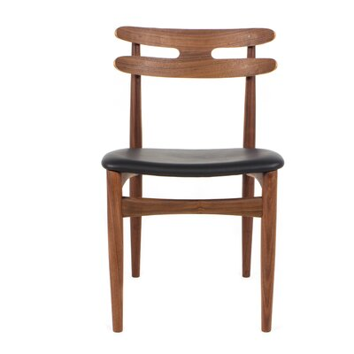 Bono Genuine Leather Upholstered Dining Chair