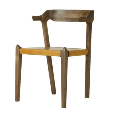 Sydney Genuine Leather Upholstered Dining Chair
