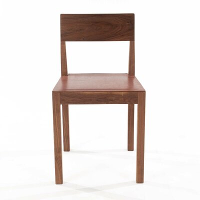 Kansas Genuine Leather Upholstered Dining Chair
