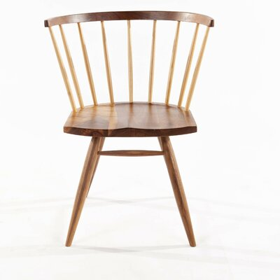 Nobu Side Chair Finish: Beech
