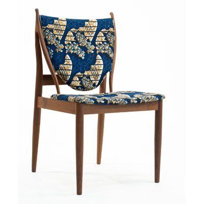 Eilif Side Chair Upholstery: Blue Flowers Print