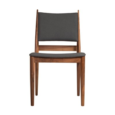 Eilif Side Chair Upholstery: Charcoal