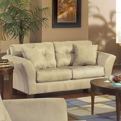 Jackson Furniture Riviera Tufted Loveseat - Color: Beige at Sears.com