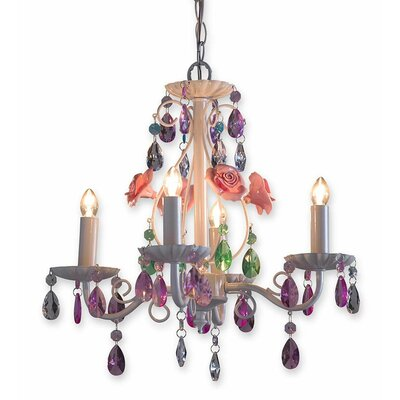 Secret Garden 4-Light Candle-Style Chandelier