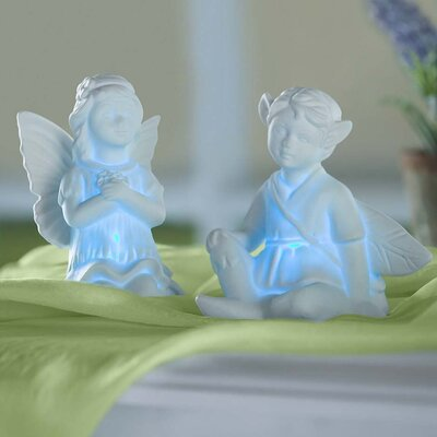 Enchanted 2 Piece Fairy Night Light Set