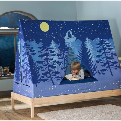 Goldberg A Frame Forest Theme Bed Canopy