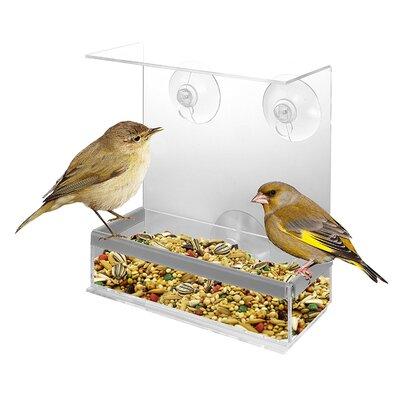 Acrylic Decorative Tray Bird Feeder KO-163