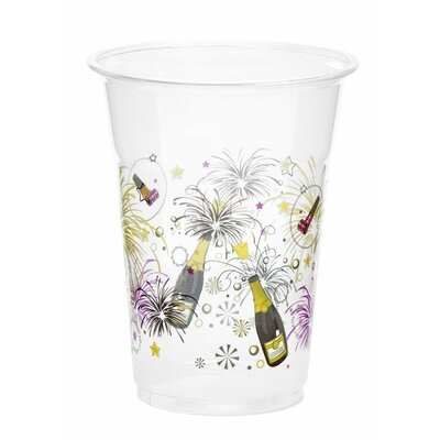 New Years Celebration 16 oz. Plastic Everday Cup KO-523
