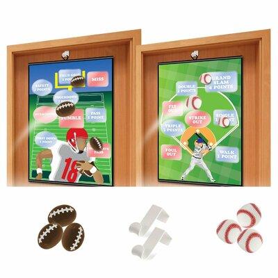 Over The Door Sports 10 Piece Board Game Set KO-313