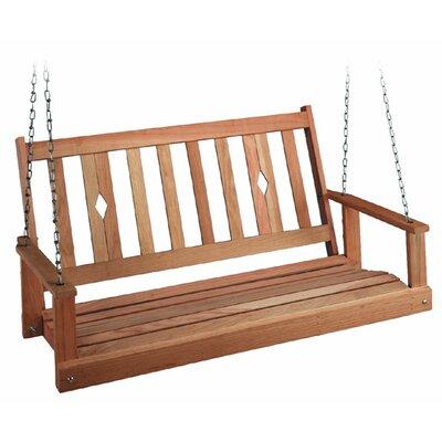 Porch Swing Size: 24 H x 48 W x 25 D