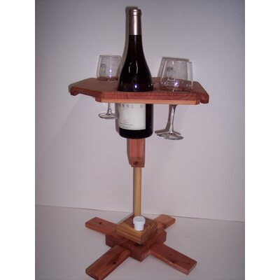 Image of Portable Wine Table with Stand