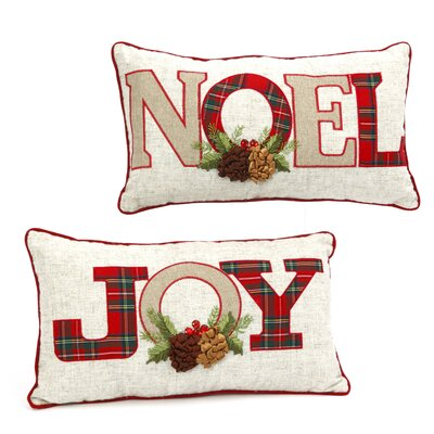 Holiday 2 Piece Lumbar Pillow Set